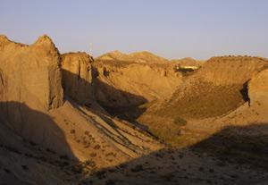 El desierto de Tabernas, en Almería. (Foto: EFE)