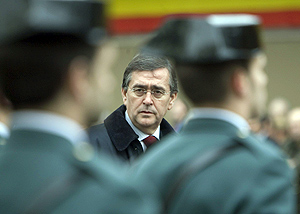 El director general de la Policía y la Guardia Civil, Francisco Javier Velázquez. (Foto: EFE)