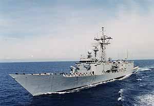 La fragata que mandará el Ejército español a las costas de Somalia (Foto: Ministerio de Defensa)