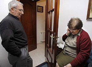 Los padres del fotógrafo. (Foto: EFE)