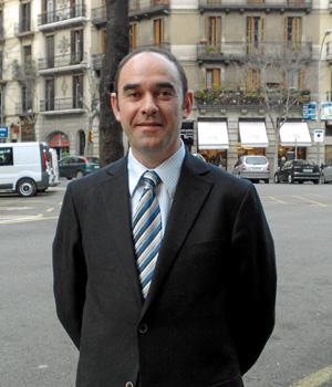 José Manuel Regadera Sáenz, decano de los jueces de Barcelona. (EL MUNDO)