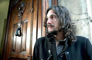 El director argentino Lisandro Alonso, durante el Festival de Cine de Gijón. (Foto: EFE)