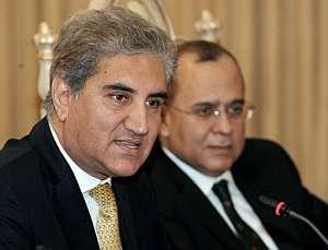 El ministro de Exteriores de Pakistán, Sha Mehmood Qureshi. (Foto: AFP)