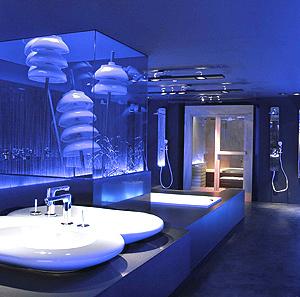 Baño futurista. (Foto: Casa Decor)