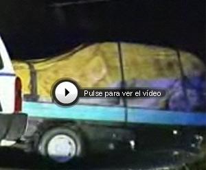 El coche que ETA robó y utilizó para cometer el atentado.