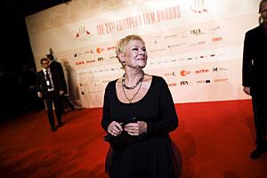La actriz británica Judi Dench ha recibido un premio honorífico. (Foto: AP)