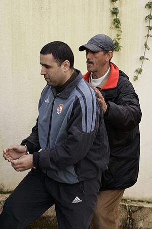 Hicham Ahmidan, en la Corte de Salé. (Foto: REUTERS)