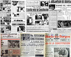 Portadas de los periódicos del 7 de diciembre de 1978. (Foto: Ical)