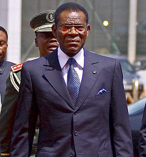 Teodoro Obiang, presidente de Guinea. (Foto: EFE)