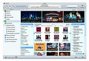 La tienda iTunes.
