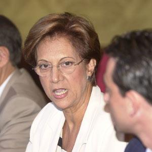 Francisca Bennàssar en una imagen de archivo correspondiente a su época en Cort. (Foto: El Mundo)
