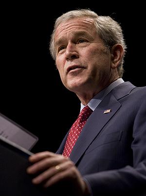 El presidente saliente de EEUU, George W. Bush. (Foto: AP)