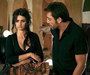 Los dos actores, en una imagen de la película de Woody Allen 'Vicky Cristina Barcelona'.