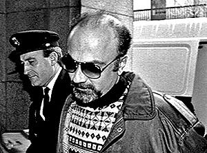 Pedro Luis Gallego Fernández tras ser detenido.