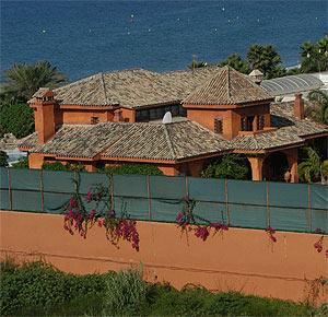 La casa del actor Antonio Banderas en Marbella. (Foto: Javier Martín)