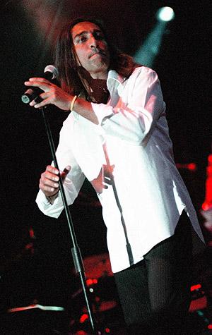 Antonio Carmona, ex cantante de Ketama. (Foto: EL MUNDO)