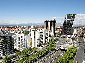Imagen de los terrenos donde se iba a edificar un rascacielos. (Foto: S. González)