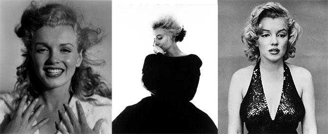 Andre de Dienes, Richard Avedon y Bert Stern retrataron al mito. (Fotos: Christie's)