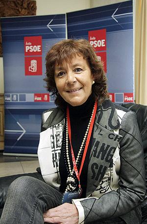 Mercedes Martín, nueva secretaria del PSOE de Ávila (RICARDO MUÑOZ)