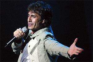 Sergio Dalma en un concierto. (Foto: Diego Sinova)