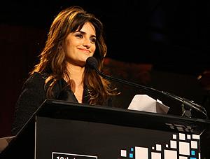 La actriz, en un homenaje que recibió a principios de mes en Nueva York. (Foto: AFP)