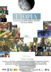 Cartel de la película documental 'Utopía'.