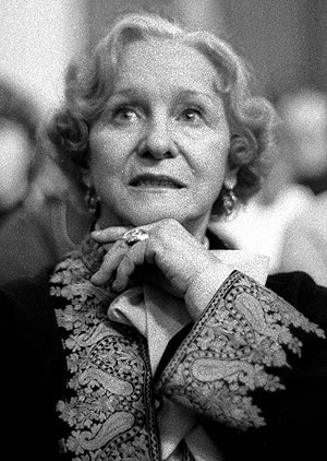Olga Lepeshískaya en una imagen de 1985. (Foto: AP)