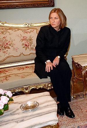 Tzipi Livni. (Foto: AFP)