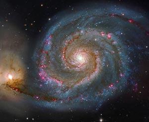 'Galaxia del Molinete', captada por el 'Hubble' en 2006. (Foto. NASA>)