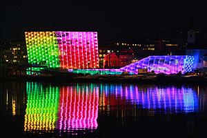 Imagen del Centro de Arte Electrónica de Linz. (Foto: Reuters)