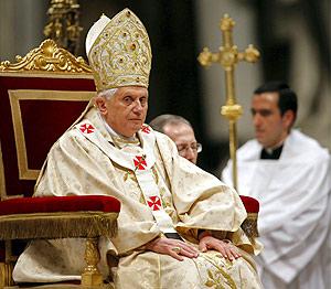 El Papa, Benedicto XVI. (Foto: EFE)