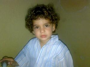 Nizar, el niño español atrapado en Gaza. (Foto: M. V.)