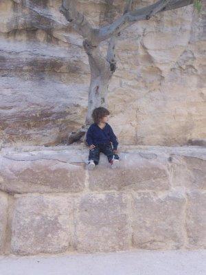 Nizar, en un viaje a Jordania, donde ahora mismo no podría ir. (Foto: M. V.)