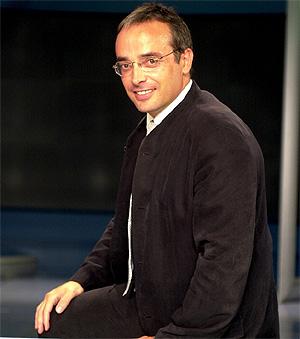 Alfredo Urdaci. (Foto: Javi Martínez)