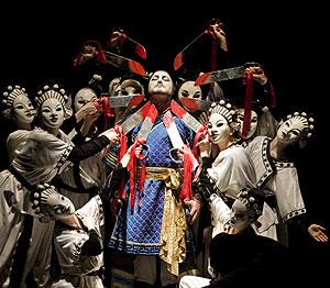 Un momento de 'Turandot', en el Covent Garden. (Foto: Johan Persson)