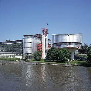 Tribunal Europeo de Derechos Humanos en Estrasburgo. (Foto: Encarta)