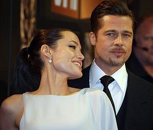 Angelina Jolie y Brad Pitt. (Foto: REUTERS)