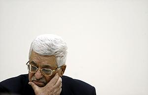 El presidente de la Autoridad Nacional Palestina, Mahmud Abbas, en Ramala. (Foto: REUTERS)