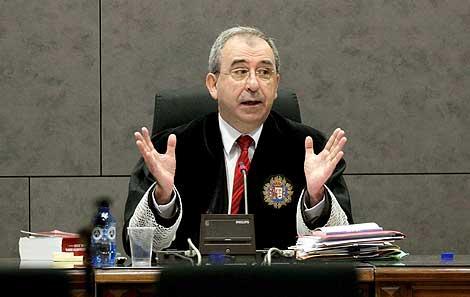 El presidente del TSJPV, Manuel Díaz de Rábago. (Foto: Efe)