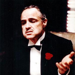 Marlon Brando, El Padrino.