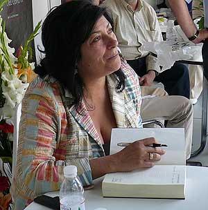 Almudena Grandes, columnista habitual del diario El País.