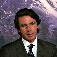 José María Aznar. (Foto: BERNABÉ CORDON)