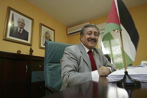 El delegado de la Autoridad Nacional Palestina en España. (Foto: Kike Para)