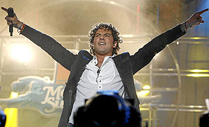David Bisbal. (Foto: J. Domínguez)