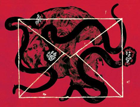 El ilustrador Joan-Pere Viladecans ha dado su versión de los cuentos de Poe en 'Todos los cuentos', editado por Círculo de Lectores. VEA MÁS ILUSTRACIONES