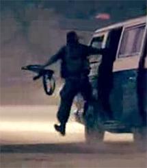 Un miembro de Hamas, en un vídeo publicado en Paltube.