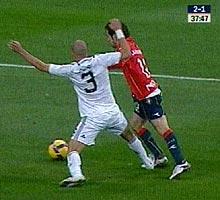 Penalti de Pepe. (Digital+) ÁLBUM