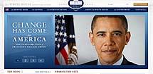 La web de la Casa Blanca, con la imagen del nuevo presidente.