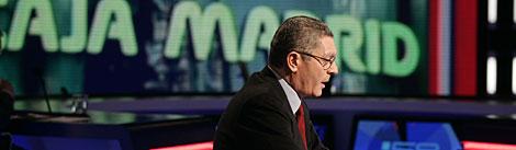 Gallardón, durante la entrevista en '59 segundos'. (Foto: Javi Martínez)