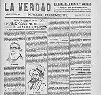 Cabecera de La Verdad en 1910, dirigida por Artigas Arpón. (Foto: E. Berzal)